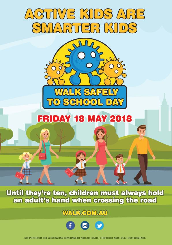 Walk Safely to School Day 2018