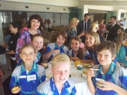 Cooran students attend Qld Youth Parliament
