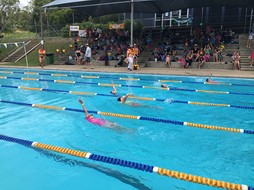 Ki'ra Wins 2015 Swimming Carnival